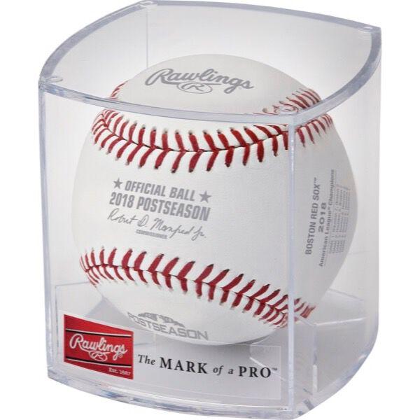 MLB 2018 Boston Red Sox American League Champions Baseball